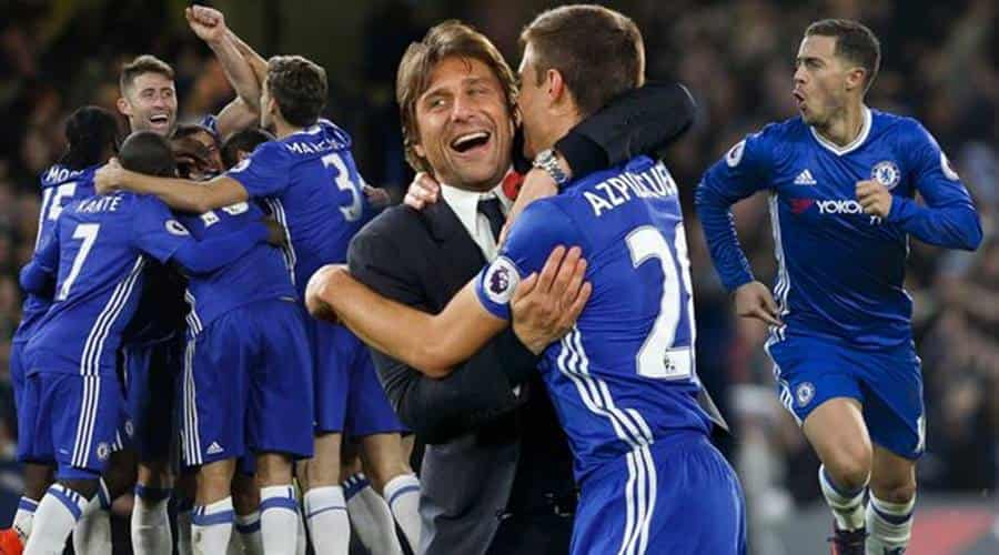 Conte Chelsea players