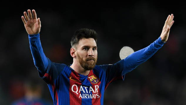 How much has Lionel Messi won with Barcelona