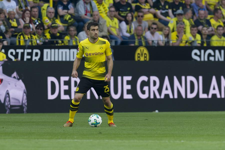 Sokratis happy to rejoin with old friends Aubameyang and Mkhitaryan at Arsenal