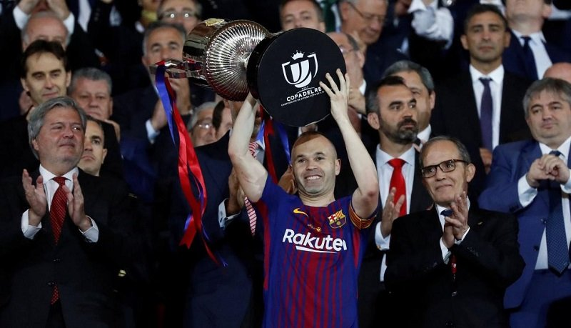 Club suspends Iniesta's move to China