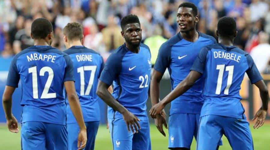Mbappe and Dembele look set to start for France