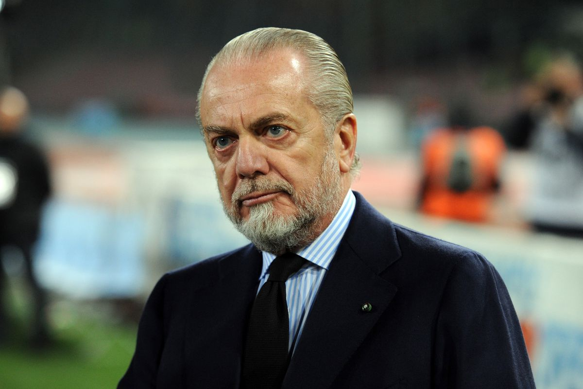 Napoli chairman implies Roma, Liverpool owners are guilty of collusion