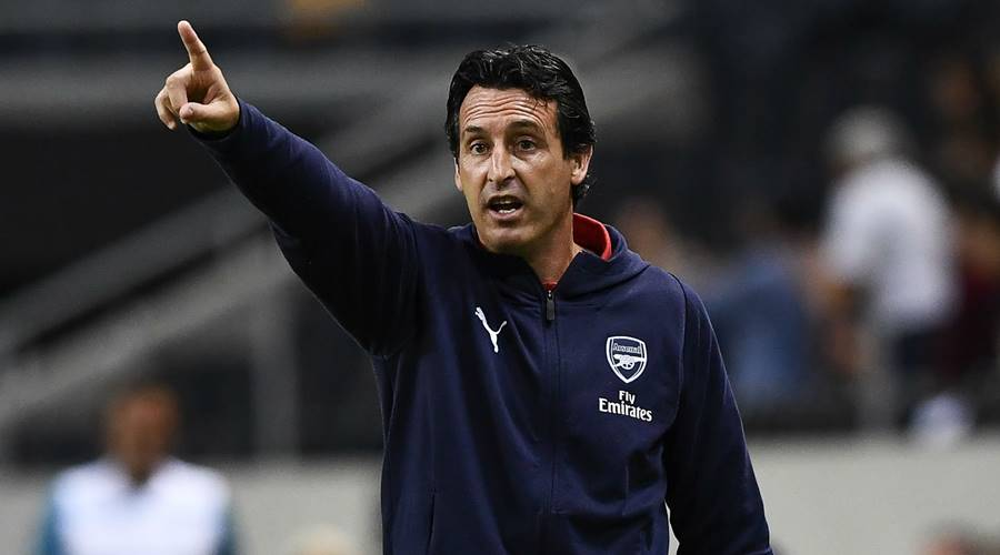 Emery wants Arsenal to play on the front foot