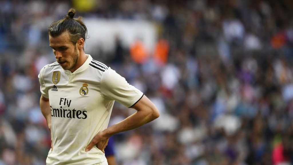 Real Madrid and Bale in tension