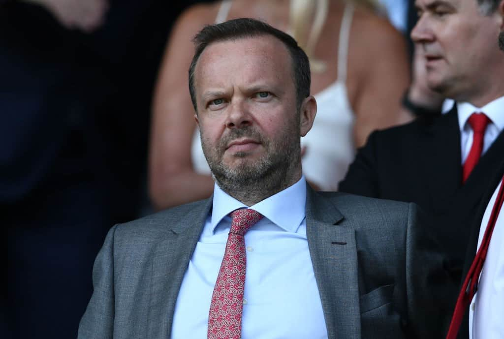 Ed Woodward won't be keen to lower United asking price.