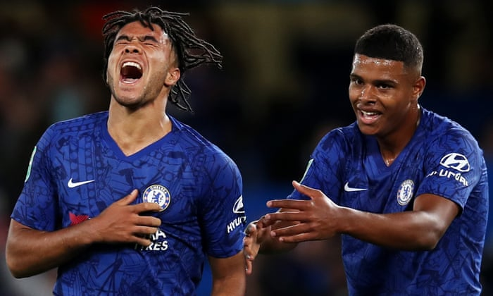 Reece James names Tino Anjorin as the next academy star after Billy Gilmour's impressive performance.