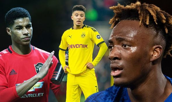 england teammates in a brawl over jadon sancho and asks to stay away