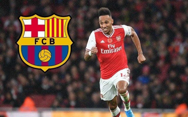 Barcelona and PSG are on a lookout for Aubameyang