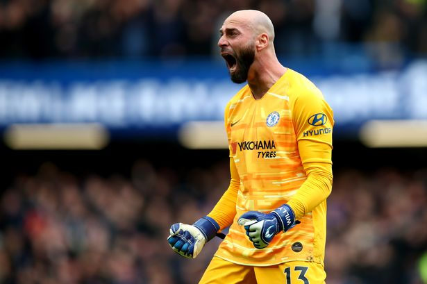 Chelsea exercise one-year contract option for Caballero