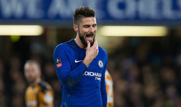 Olivier Giroud signs contract extension to stay at Chelsea next season
