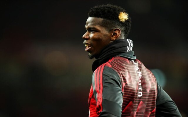Pogba might be coming off the bench initially for the Red Devils
