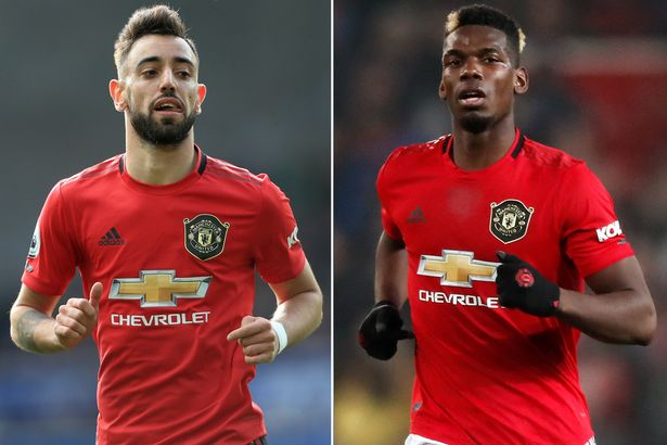 Bruno and Pogba are among other Ole has rested for the Europa by United