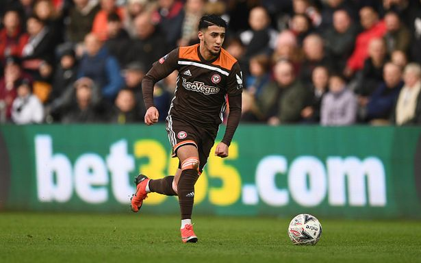 Blues started an official chase for Brentford FC winger, said Benrahma.