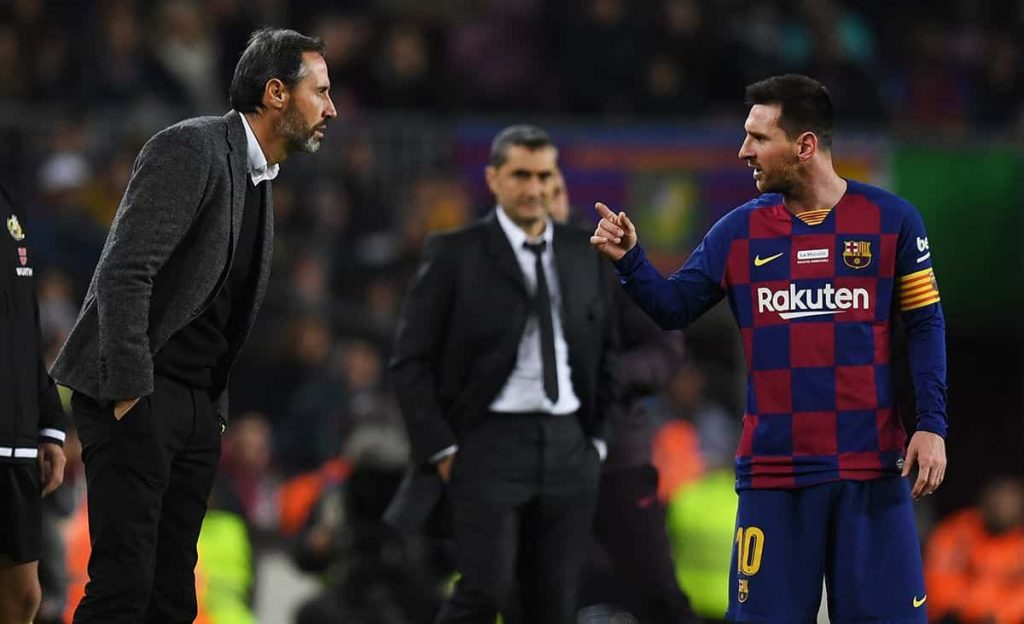 Igniting Messi's anger ends up with bad result