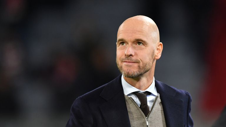 ten Hag has insisted on van de Beek to stay for another year.