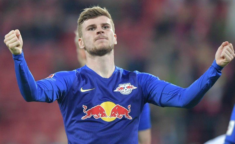 Werner will join Chelsea after the Bundesliga games end.