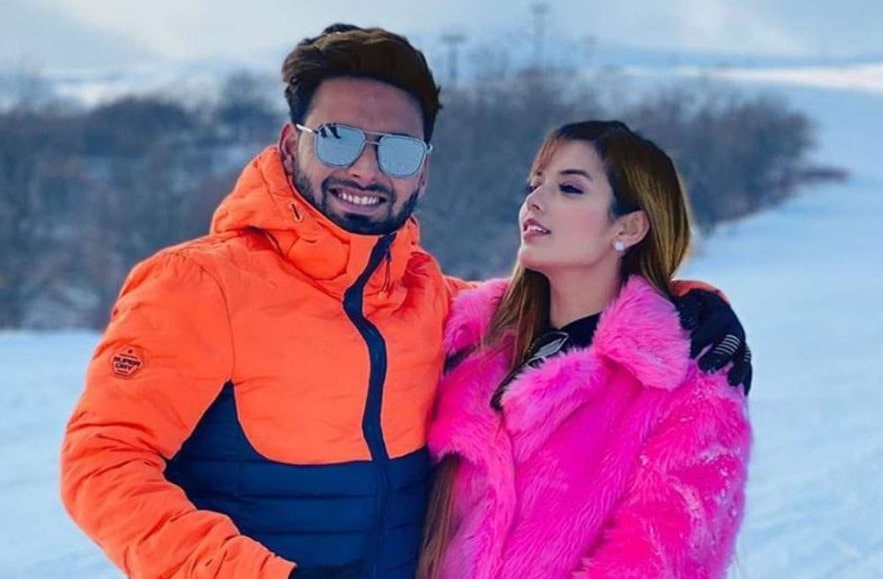 Rishabh Pant welcomes his girlfriend Isha back to Instagram