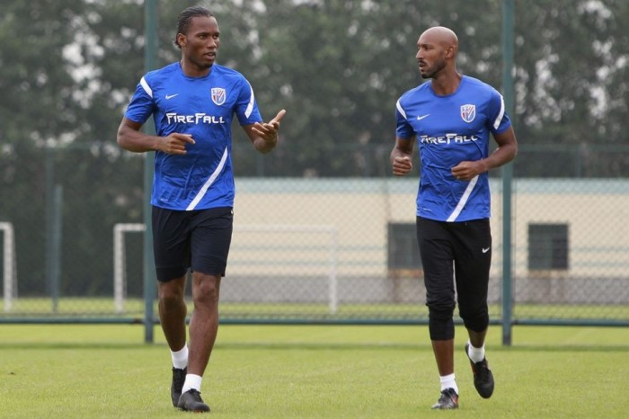 Luiz Felipe Scolari pointed at Didier Drogba and Nicolas Anelka bust-up the reason for his sacking