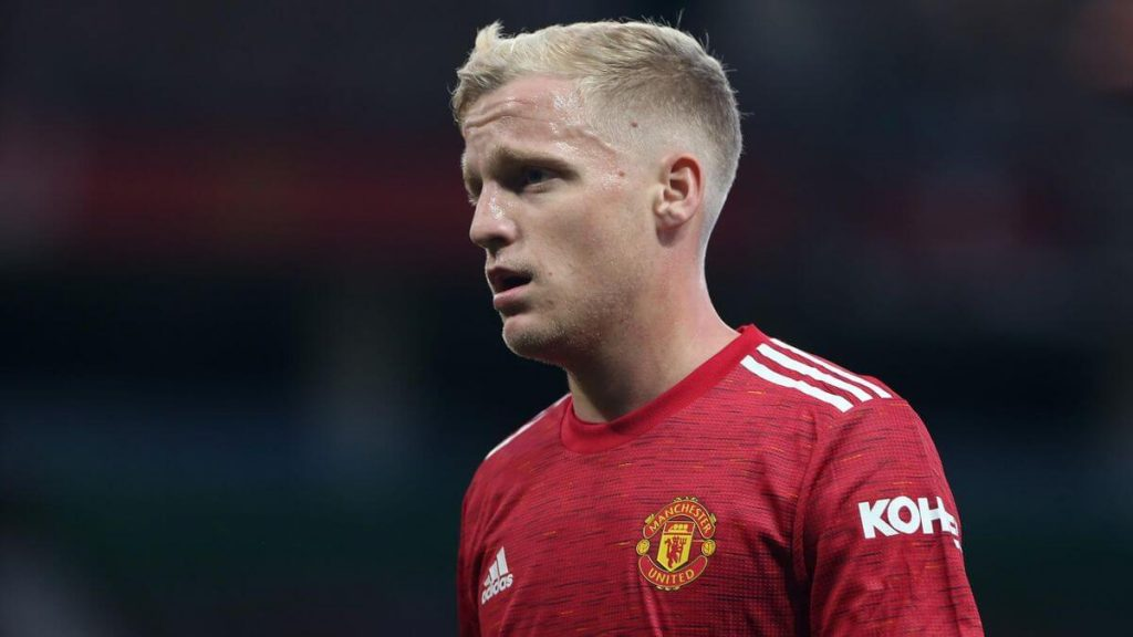 Manchester United not happy with De Beek