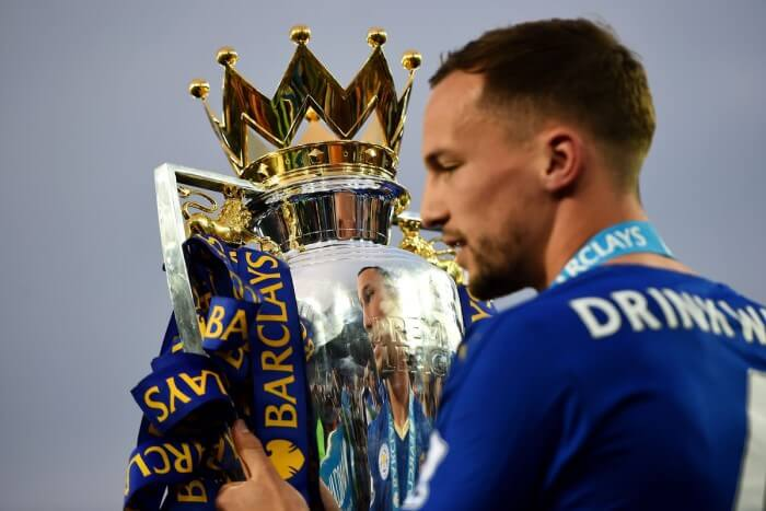 Danny Drinkwater won the Premier League title with leicester City
