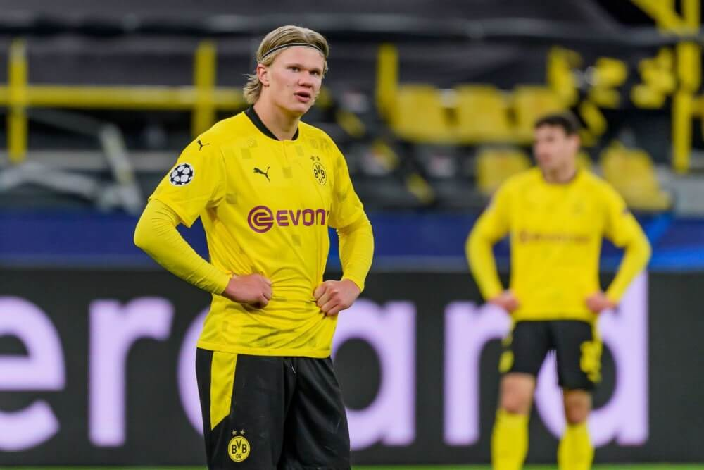 Erling Haaland names the 7 players who he considers better than him