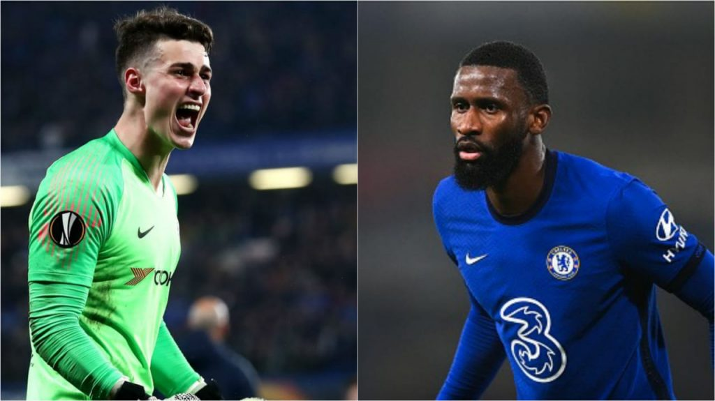 Chelsea sent Rudiger home after a bust-up with Kepa in training