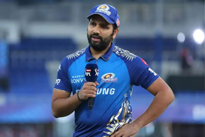 Rohit Sharma left the field last game against Delhi Capitals with a small niggle.