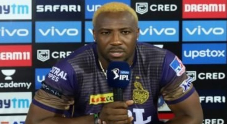 Andre Russell responds to Shah Rukh Khan tweet on KKR loss