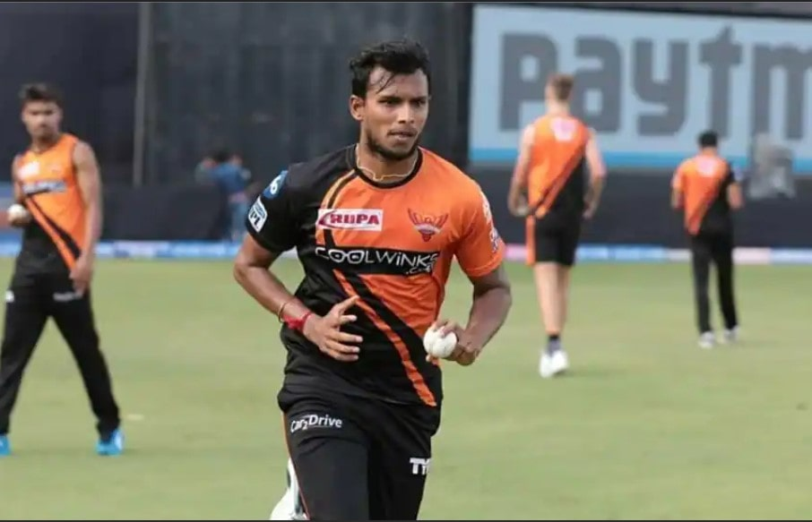 IPL 2021: T Natarajan to miss rest of the tourney with knee injury