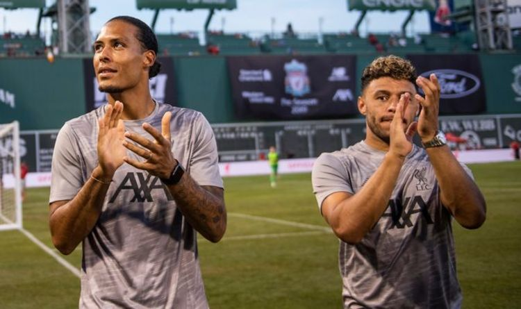 Injury Troubles for Liverpool- Van dijk and Oxlade Chamberlain