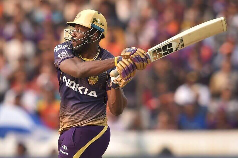 Andre Russell in form for Kolkata