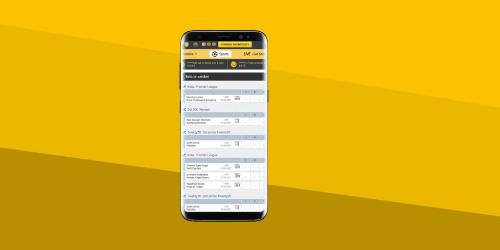 Best cricket betting apps for Android in India (2021)