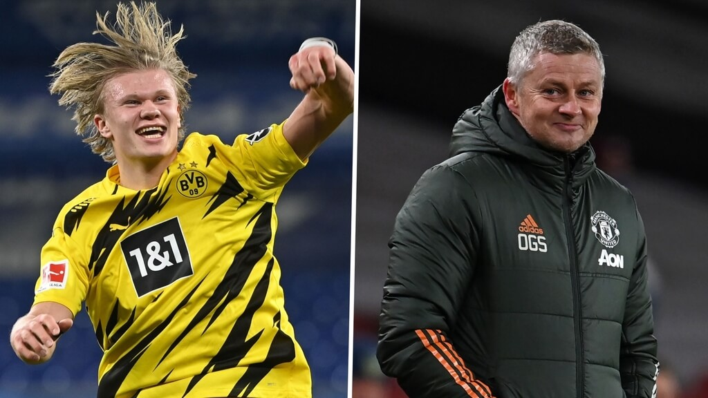 Four Manchester United players Dortmund may accept in a swap deal for Erling Haaland