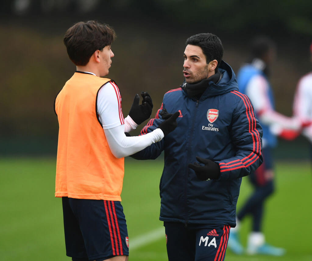 Mikel Arteta comments on Hector Bellerin amidst lack of game time
