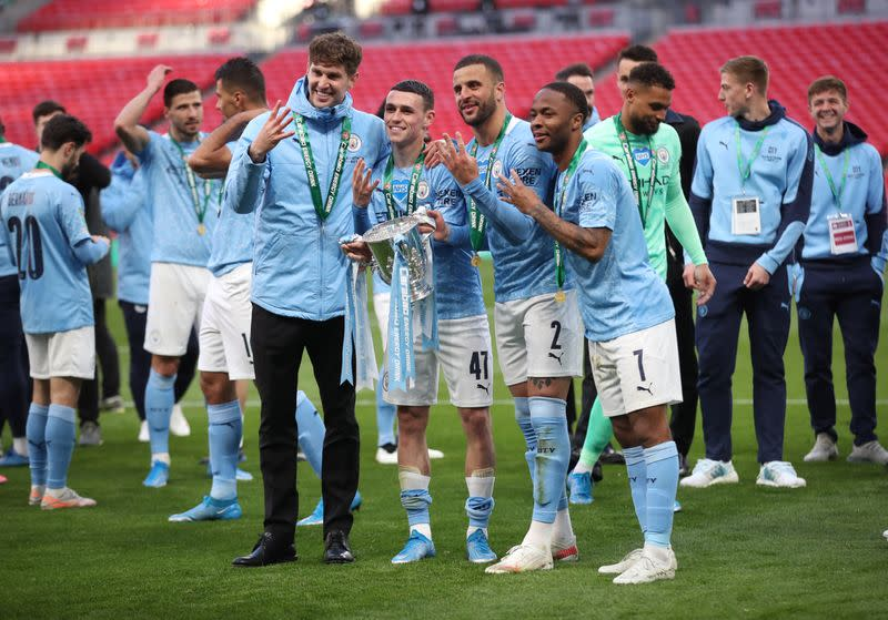 Manchester City beat Tottenham Hotspur 0-1 to win the Carabao Cup