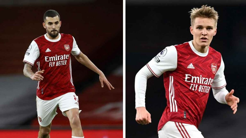 Arsenal receives a huge boost after Real Madrid decides to sell the two on loan midfielders