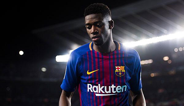 Manchester United and Liverpool leading the race for Barcelona's Ousmane Dembele.