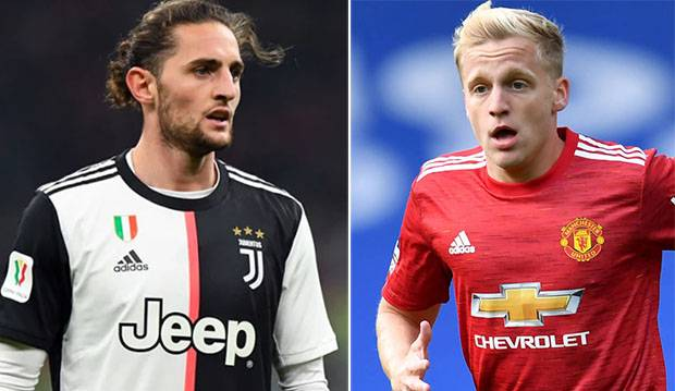 Manchester United willing to involve Van de Beek in a swap deal