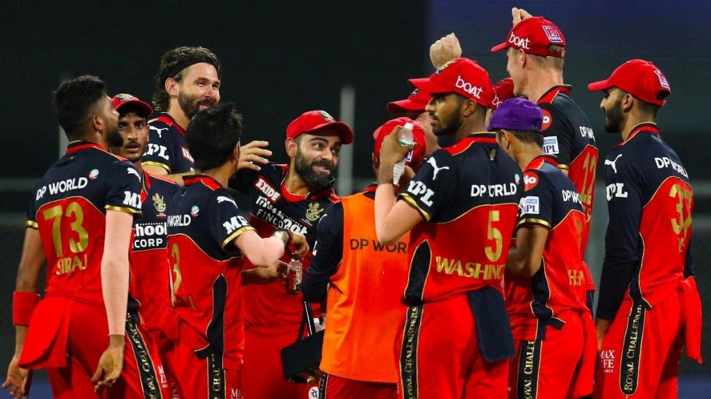 Royal Challengers Bangalore are the current league leaders with eight points