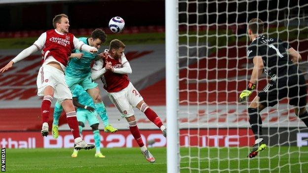 Arsenal suffered defeat against Liverpool