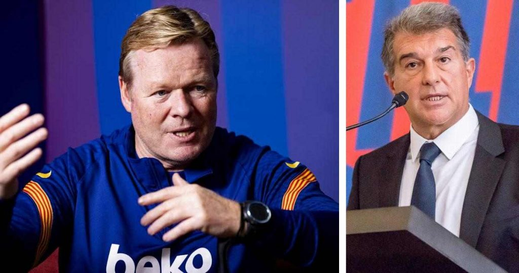 Ronald Koeman and Joan Laporta are aiming to build a strong foundation for FC Barcelona