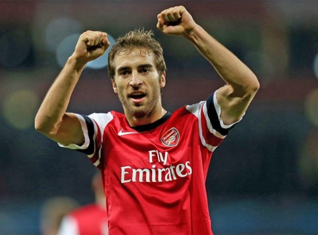 Mathieu Flamini played for Arsenal for 7 years
