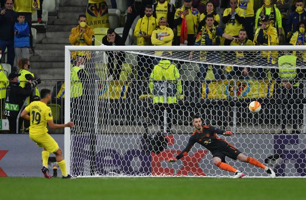 Coquelin absolutely thrashed his penalty against United leaving no chance for David De Gea