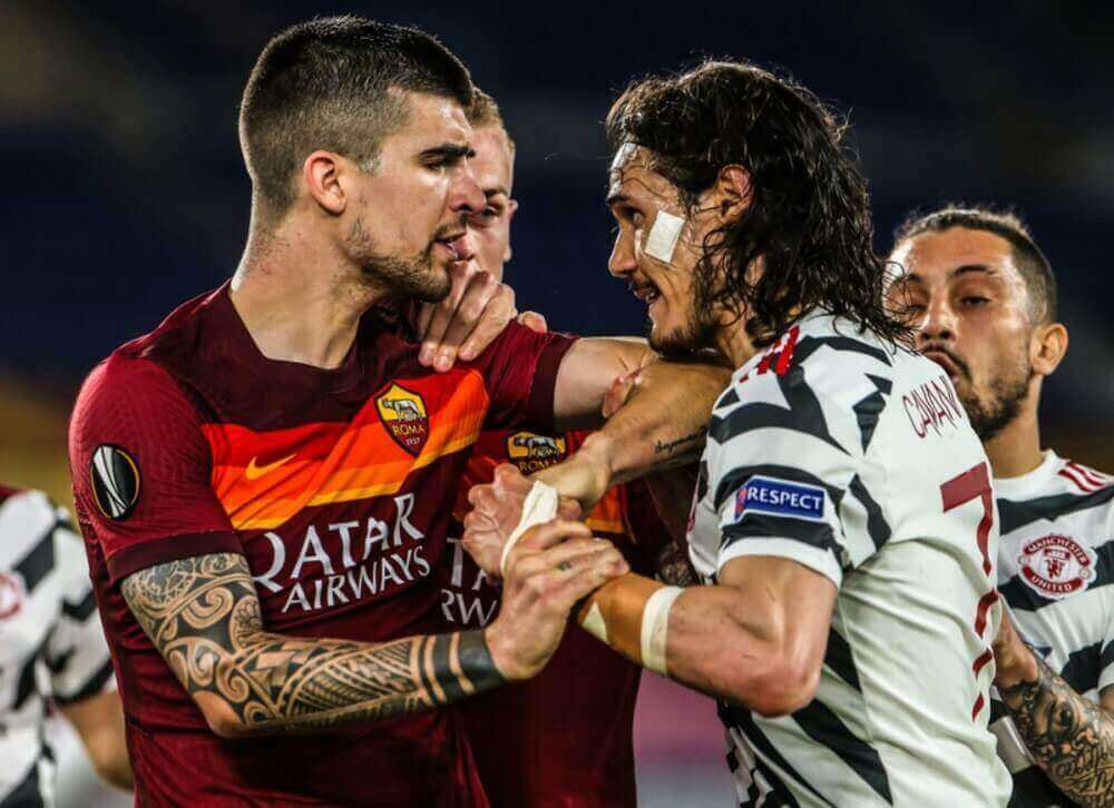 Manchester United defeated AS Roma to book a place in the Europa League final
