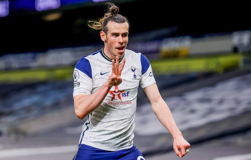 Bale takes dig at Mourinho