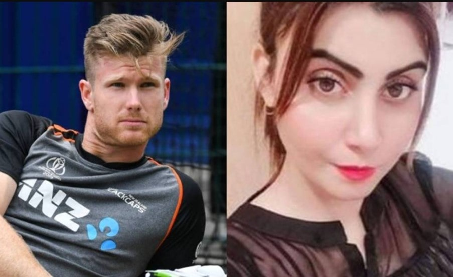 Neesham responds after Pakistani actress asks Kiwi cricketer to become father of her future kids