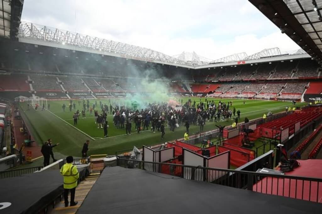 Manchester United vs Liverpool postponed after fan protests at Old Trafford