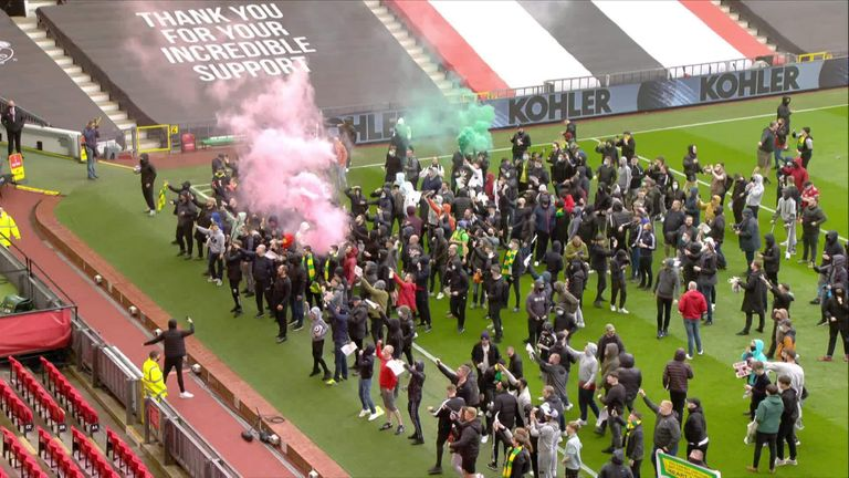 The alternative view of fan protest at Manchester United
