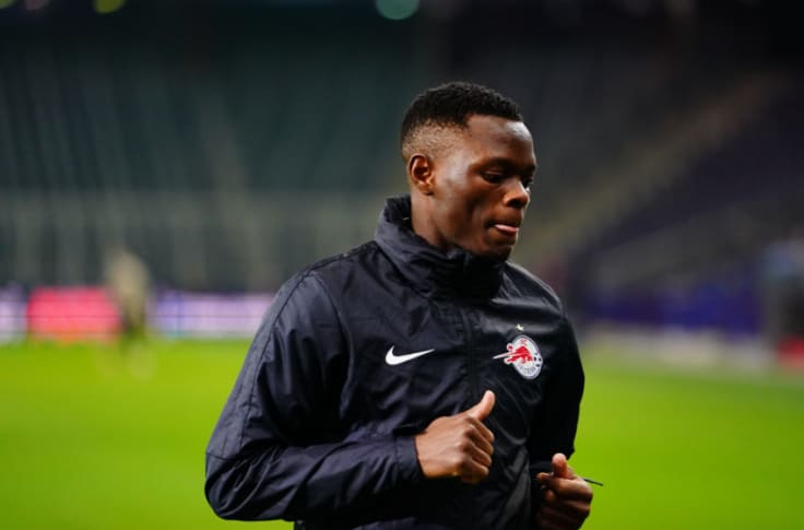Salzburg's Patson Daka a person of interest for Liverpool