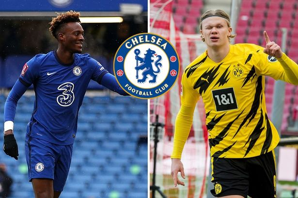 Chelsea setting up a swap deal for Haaland including Tammy Abraham